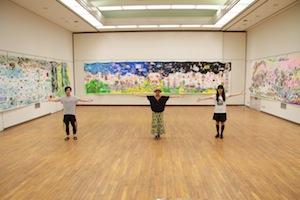 『生命の壁画』池平徹兵 ninko ouzou MINAKO ASAKURA