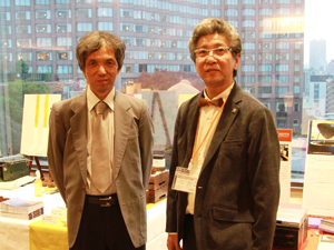 株式会社コーゾー・代表取締役の高田英生さんととウメダ電器・梅田寛さん