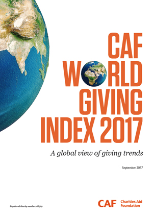世界寄付指数(world giving index)2017