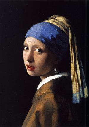フェルメールの『真珠の耳飾りの少女』は東洋の神秘の象徴なのかも?