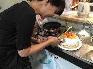 以前からお世話になっている和泉昇さんのプチ誕生会