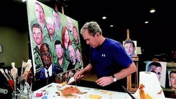 絵画が趣味の大統領たち ジョージ・W・ブッシュ
