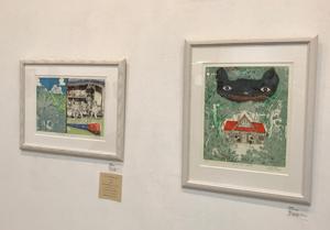 「X'mas ACT ARTIST EXHIBITION」展示 武田尋善さん