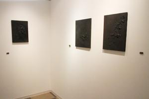 ギャラリー奥の部屋を少し公開 kisai(如月愛)が挑む「まんまるくん企画」