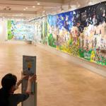 明日18日、「ボランティア・地域活動見本市 in 永福和泉」で『生命の壁画』展示&ouzouさんも来てくれます
