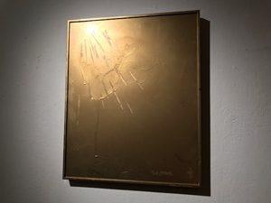 勢いと信念が発せられていた卍斎Xさんの展示「HIGH FLYIN DISC」 at 高円寺AMPcafe