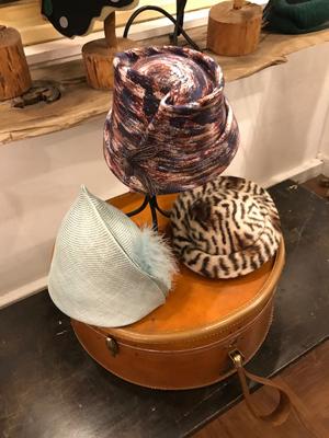 帽子作家の合渡 都さんのハットショー&コラボ展示は23日からスタート・会場は銀座・奥野ビル「Galerie Lã(ギャルリー ラー)」