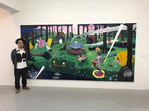 「闘争か逃走 Fight / Flight 」展。コヤマイッセーさんの展示