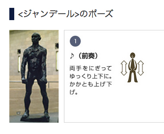 静岡県立美術館「カレーの市民」ジャン・デール試作品