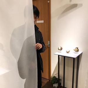 日比野猛『未象の庭2017―荻野哲哉展』