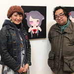 「X'mas ACT ARTIST EXHIBITION」展示 ninko ouzouさん どんなときにオレは絵が欲しくなるのか?