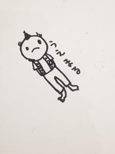 TADASUKEさんが即興演奏! そしてライブペインティング! 「まんまるくん展示」