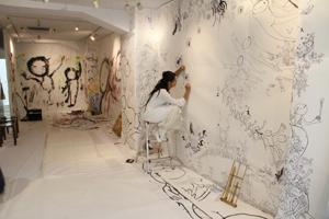 描け♪描け☆描け♥ kisai(如月愛)が挑む「まんまるくん企画」☆14日目報告