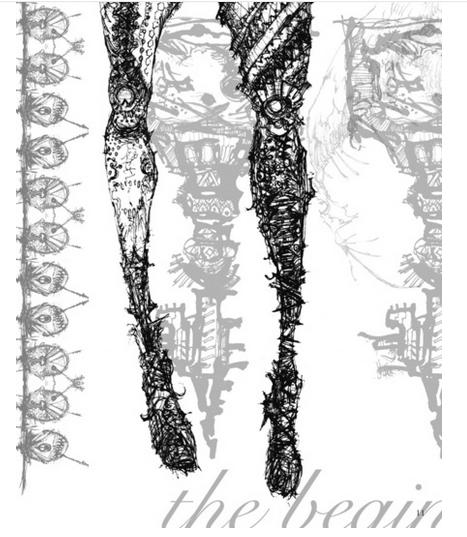 雲泥流さん、「BOOTH」で『COMITIA123 イラスト集』販売中でっす