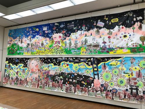 『生命の壁画』2018 ninko ouzou作
