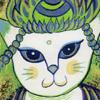 「猫愛その伍」きよみずミチル個展 10月7日までACTにて