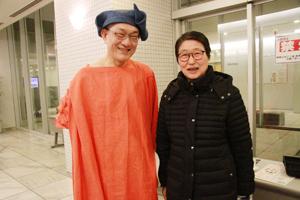 永田砂知子さんと橘さん【橘政愛の音世界】緊張感と和やかさ、即興と緻密さ、こだわりと笑顔の時間