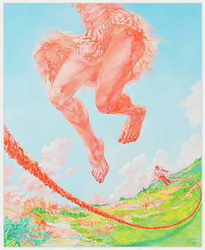 FACE展 2018 グランプリ『それが来るたびに跳ぶ降り立つ地面は跳ぶ前のそれとは異なっている』仙石裕美
