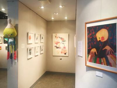 「maro fes 2020」展示 木村晴美・sioux・maro作品