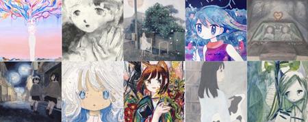 京都を拠点に活動する日本の女性アーティストobさんのキュレーション展「neo wassyoi」でアート語り【中野Hidari Zingaro】