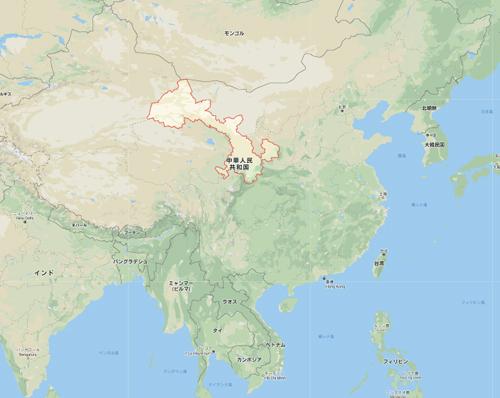 甘粛省(かんしゅくしょう)は中華人民共和国北西部に位置する
